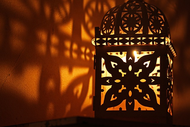 magnifique lanterne orientale