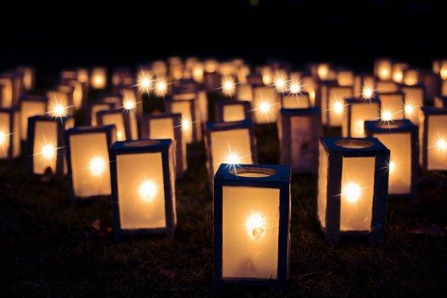 des bougies magiques